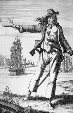 Anne Bonny, female pirate dress code
