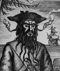 Blackbeard the pirate