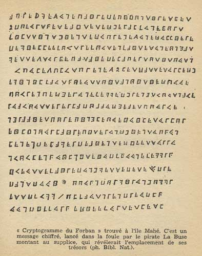 The cryptogram of Olivier Levasseur known as La Buse