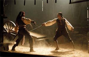 Jack Sparrow VS Will Turner