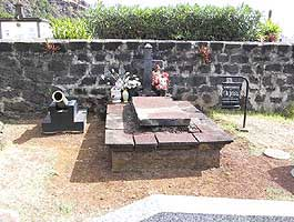 The grave of the pirate Olivier Levasseur a.k.a. La Buse